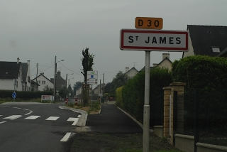 Town of St James where American Cemetery is located