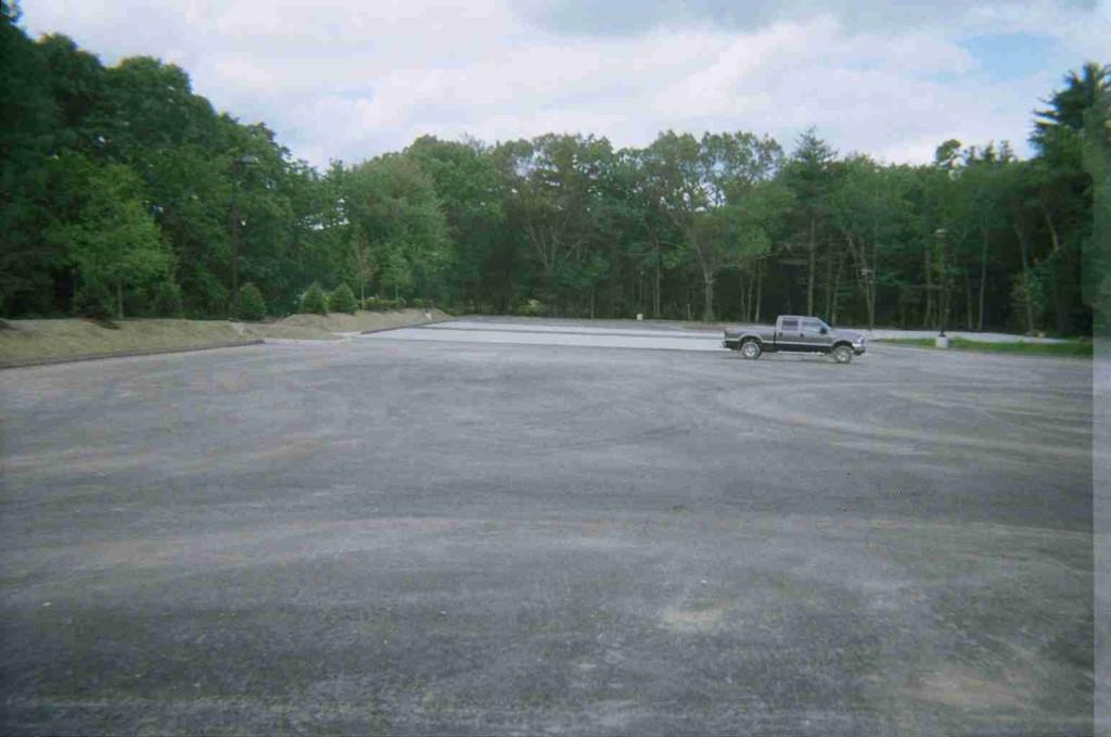 Parking Lot & Truck