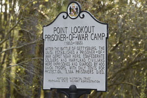 Point Lookout Marker